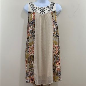 Rewind Sleeveless Lined Dress  Size L